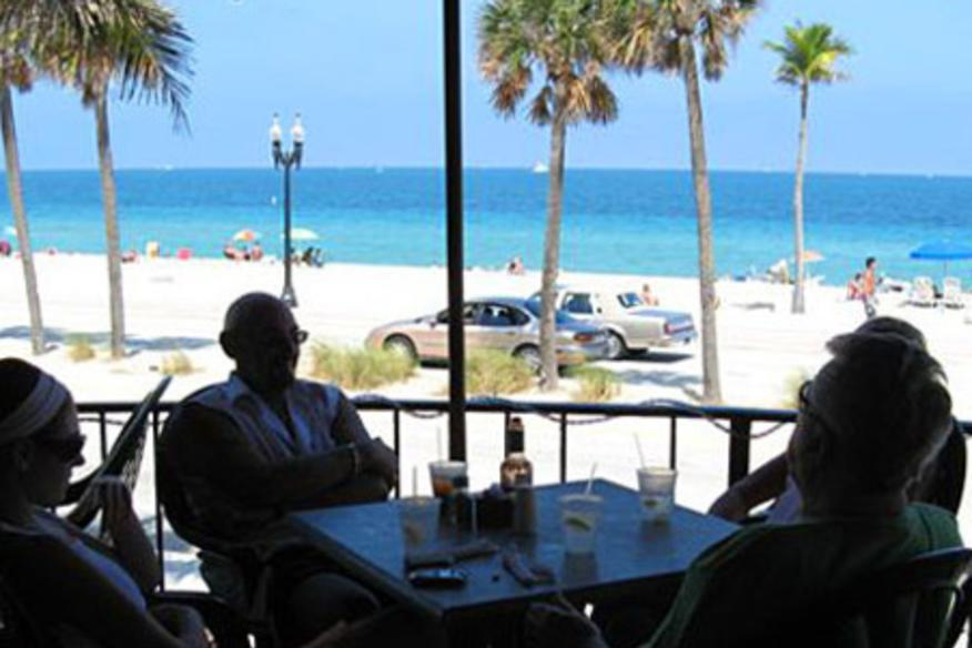 The Deck Restaurant View