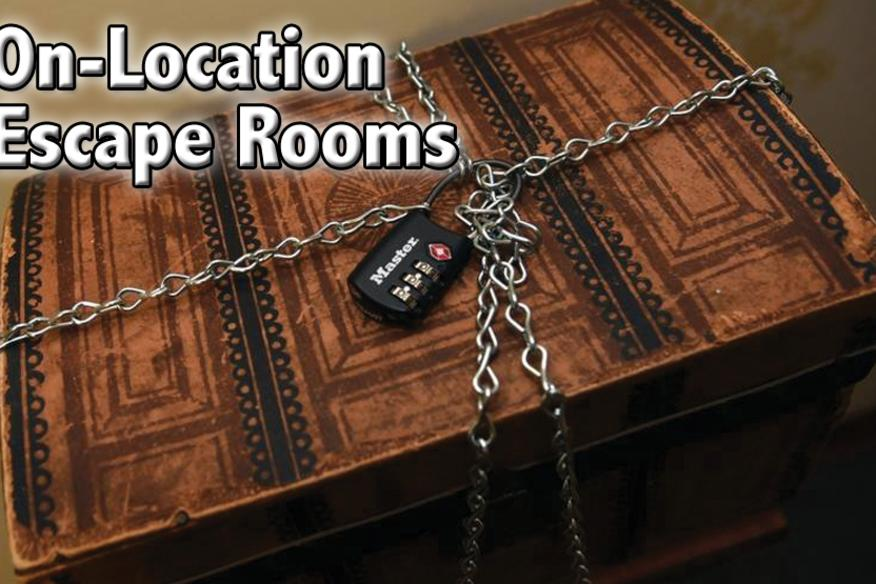 On-Location Escape Rooms
