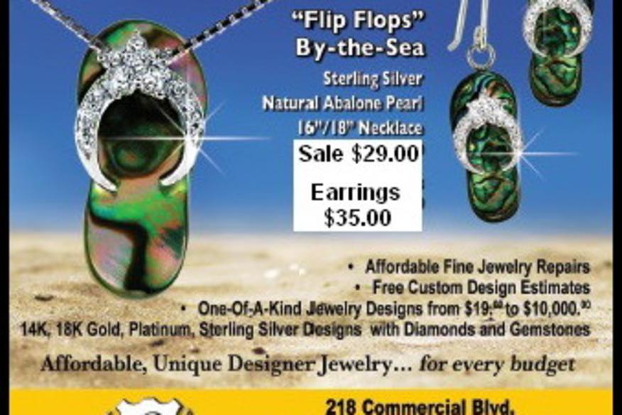 Flip Flops by the Sea