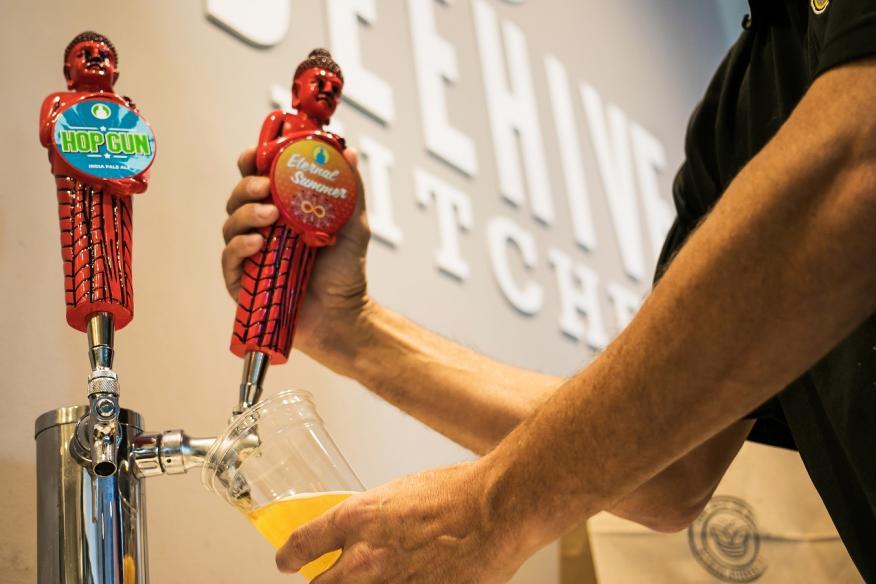 Beehive Funky Buddha Beer