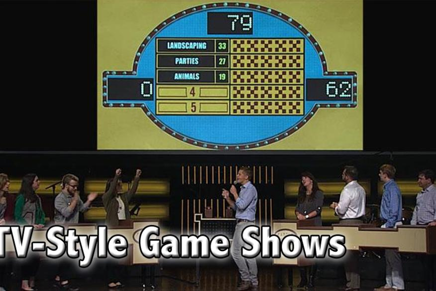 TV style game shows