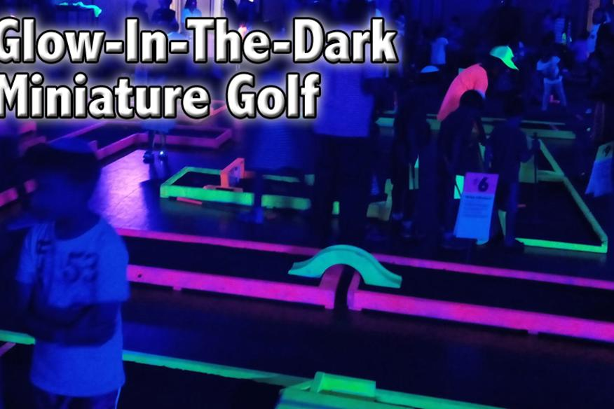 On-Location Glow Mini Golf