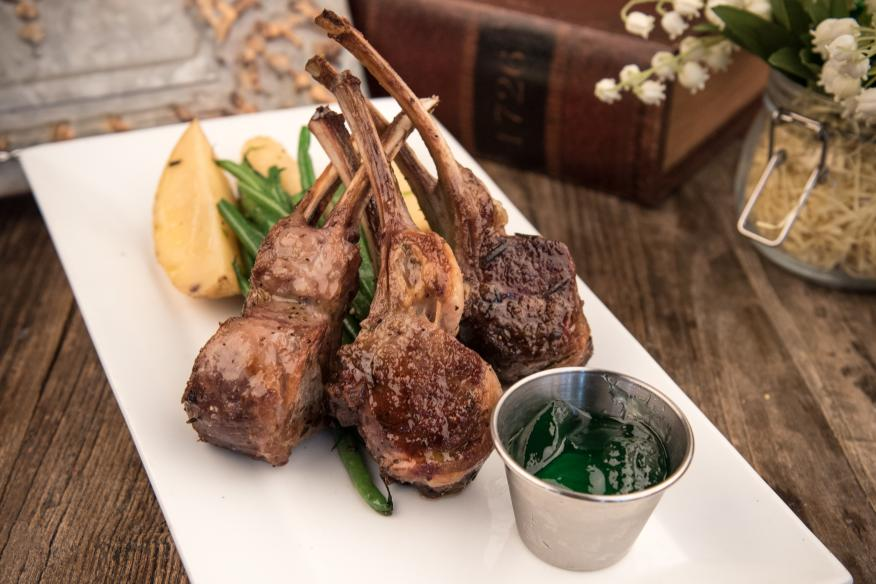 Déjà Blue Restaurants - Lamb Chops