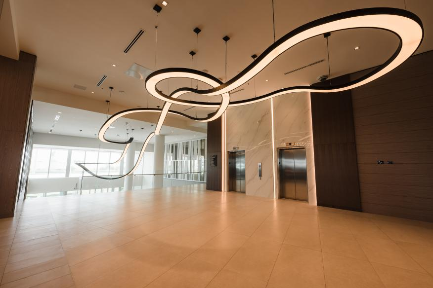 Lobby features