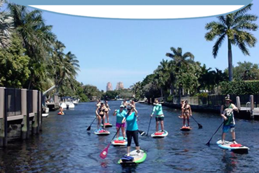 All Day Stand Up Paddle Board Rental with Sunrise Paddleboards -