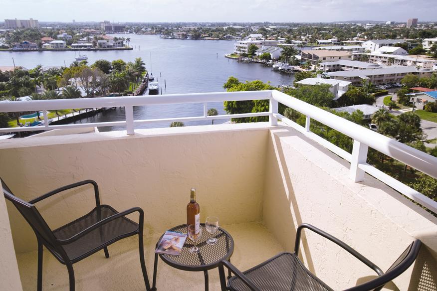 Pompano Beach, FL - Wyndham Santa Barbara Resort, Balcony