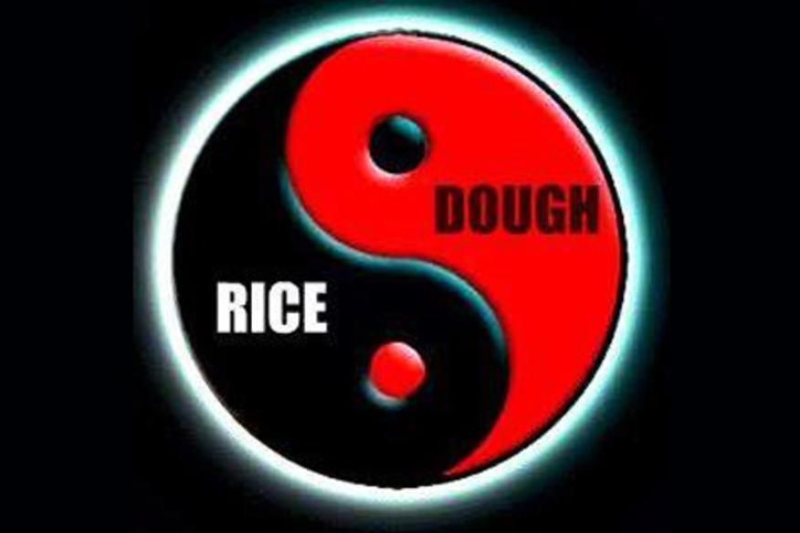 rice and dough