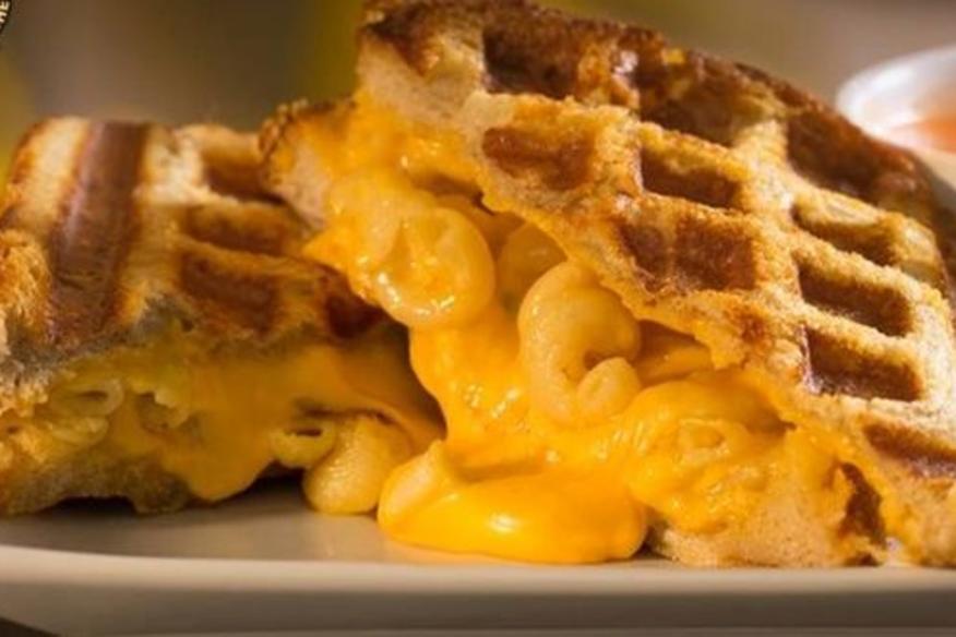 Waffle Mac & Cheese