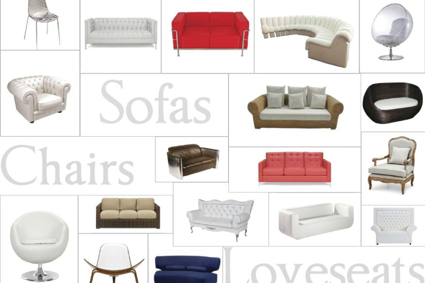 Chairs, Sofas, & Loveseats