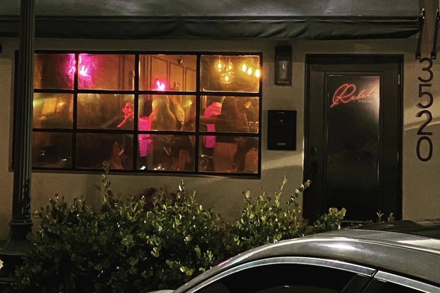 Wine Bar South Florida - Rebel Wine Bar Exterior