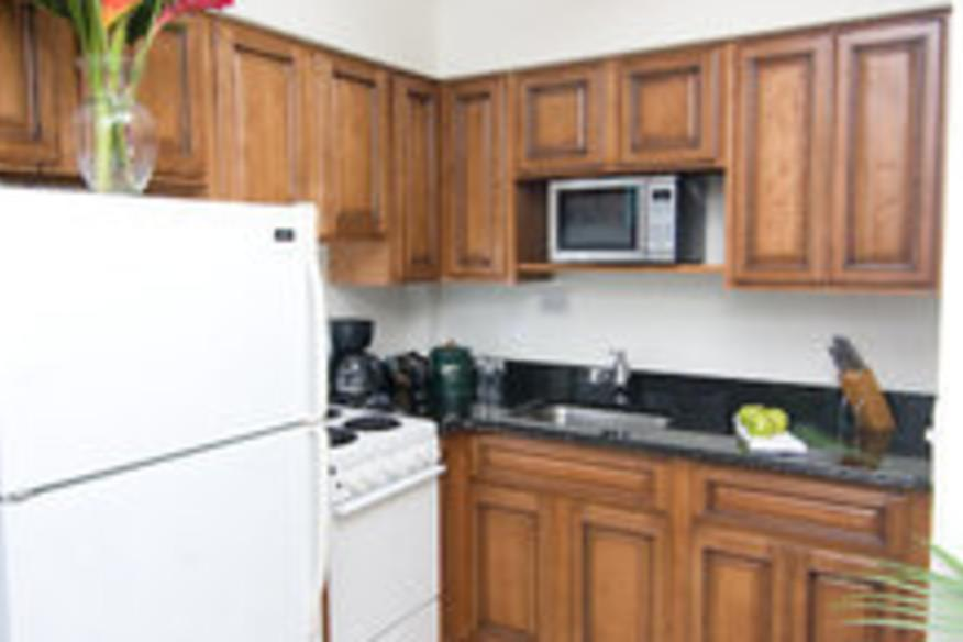 Full Kitchen in every Oceanfront Suite