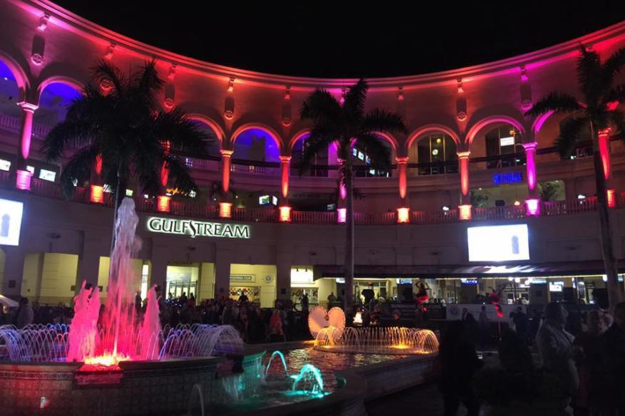 gulfstream park night