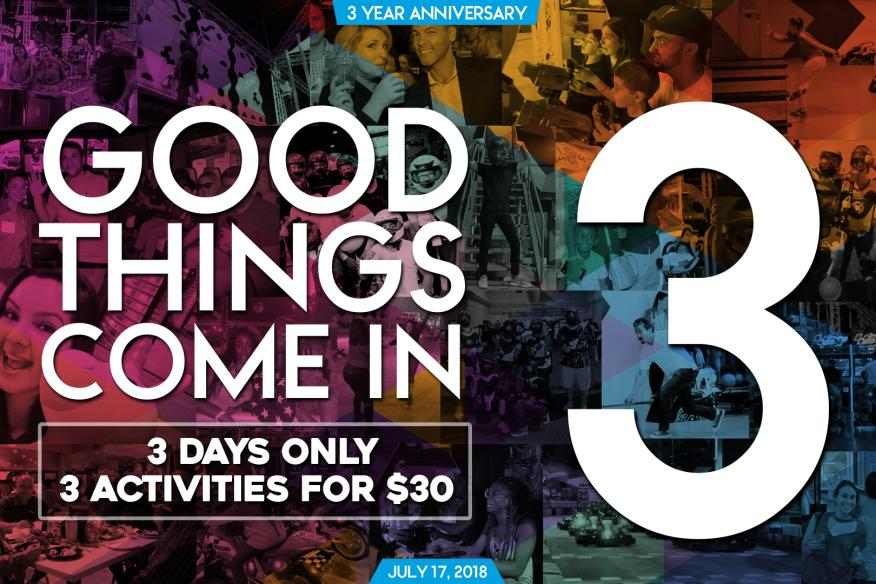 Xtreme's Anniversary Special - Good Things Come in 3