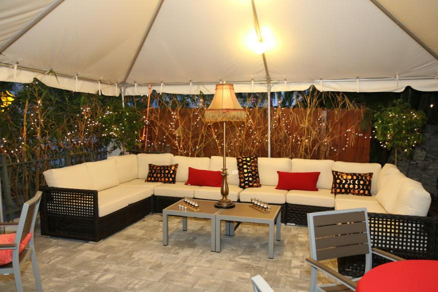 Courtyard Back Tent VIP