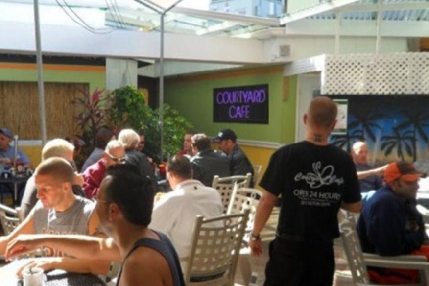 SHAWN & NICK'S COURTYARD CAFE