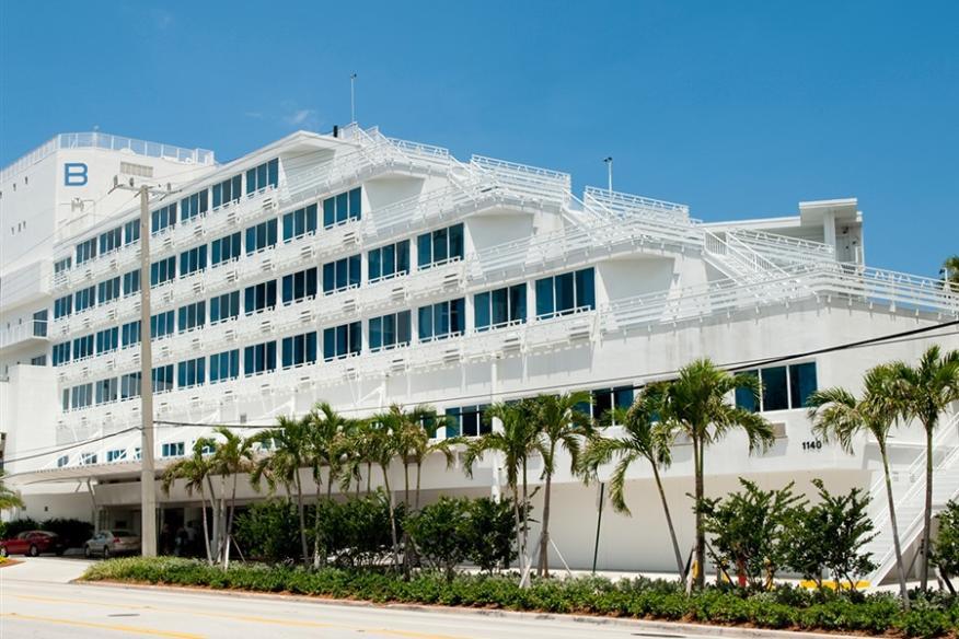 B Ocean Resort, Exterior