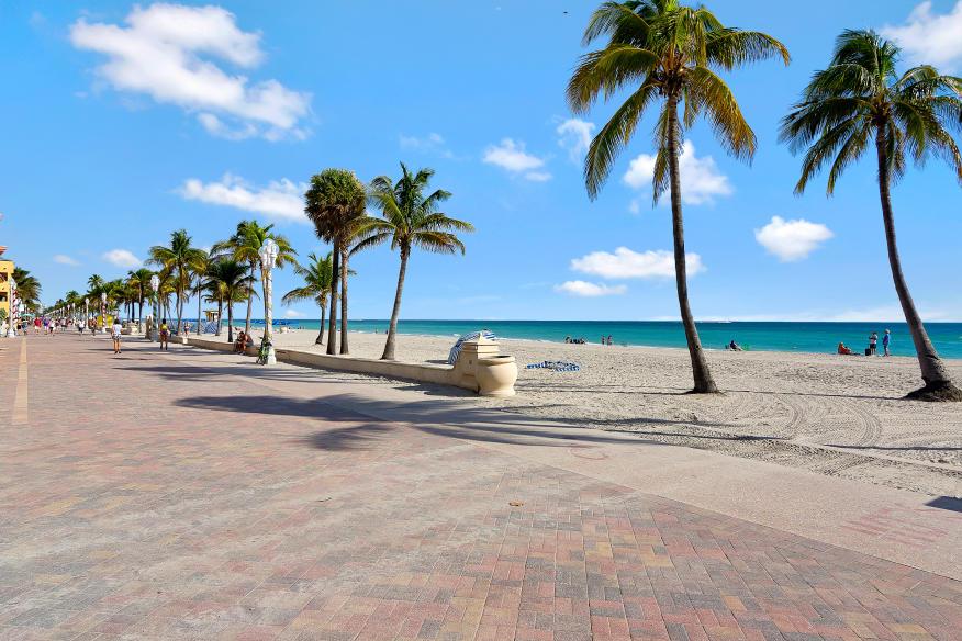 Boardwalk and Beach