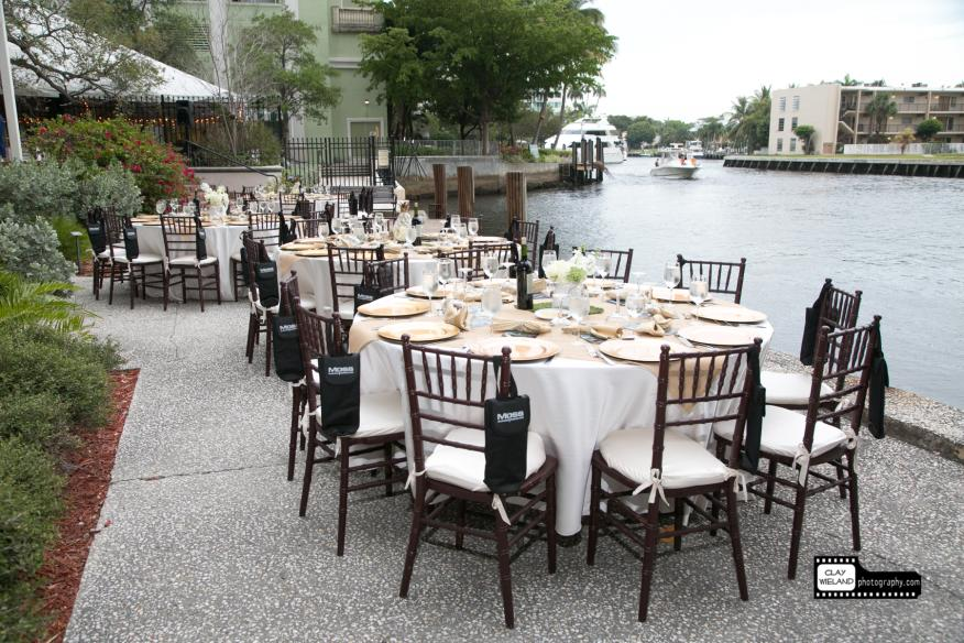 Stranahan House river front with table setting 2
