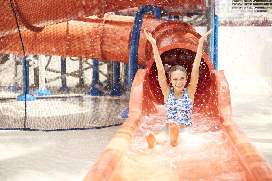 All New Dip+Slide Water Play Area