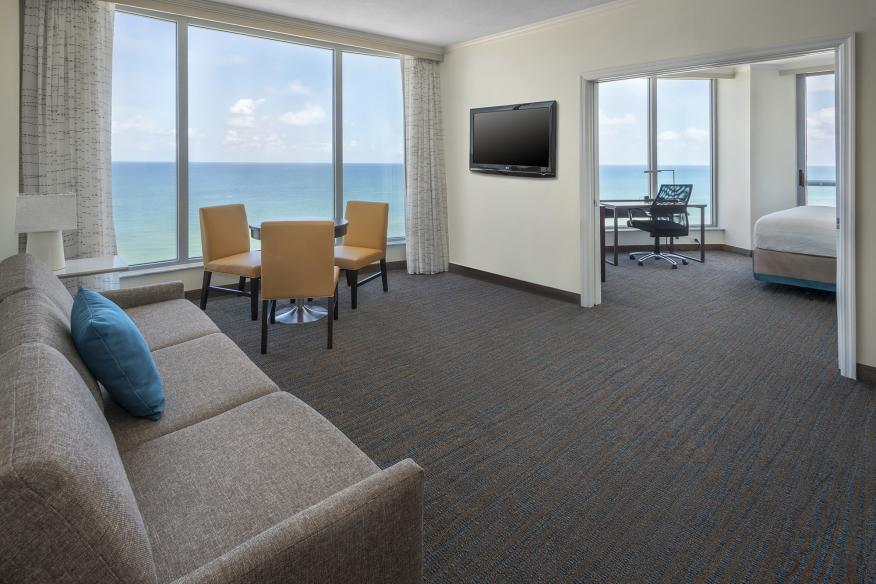 Ocean Front Suite with Balcony