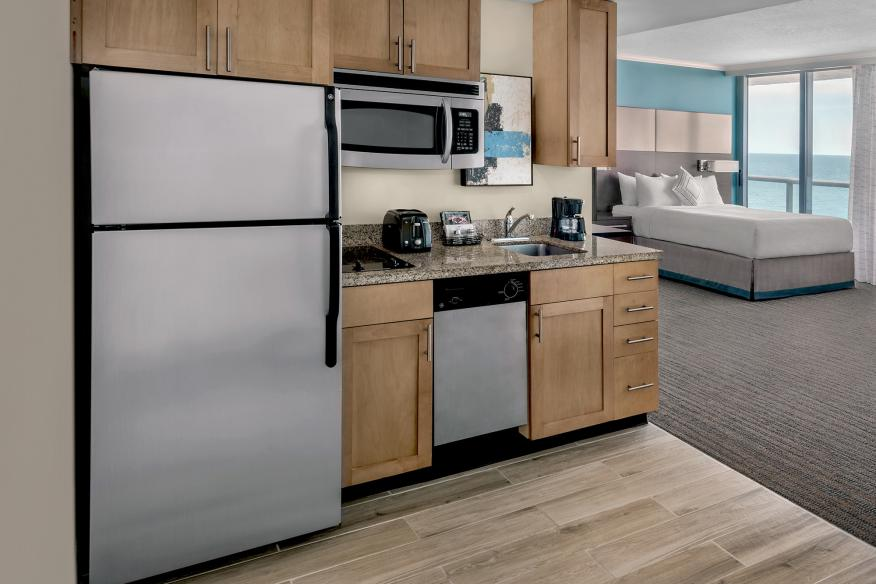 Kitchenette all suites and rooms
