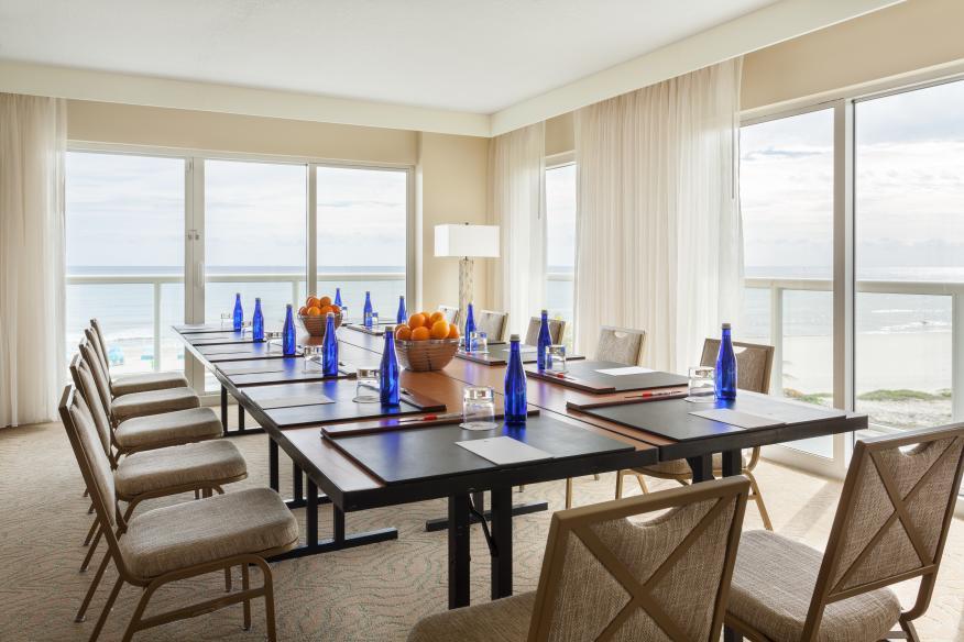 Presidential Suite Meeting Setup