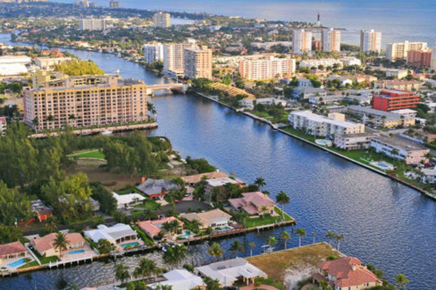 Ft Lauderale Canal System