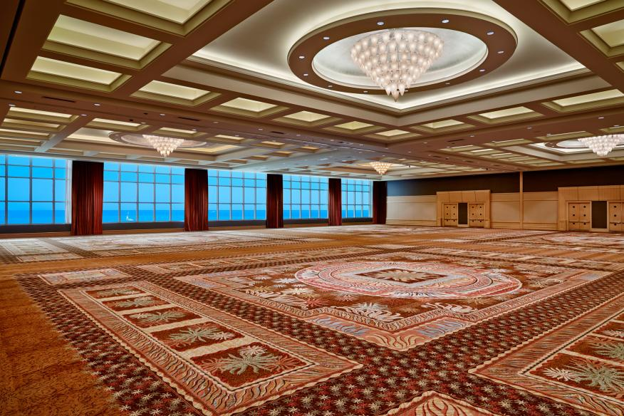 Grand Ballroom Overlooking the Atlantic