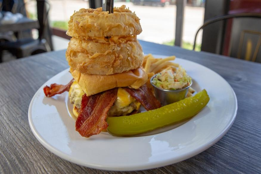 Close up of Western Burger