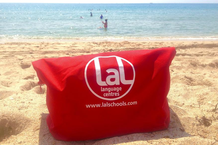 LAL Fort Lauderdale bag on the beach