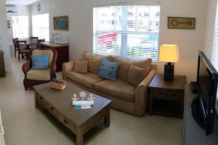 1 BR Suite Living Room