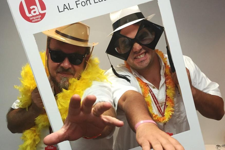 LAL's selfie frame