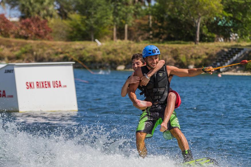 skirixen - water ski ride