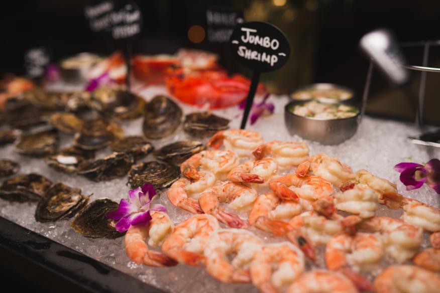 Seafood Cart