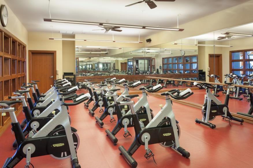 Fitness Center - Spin Class