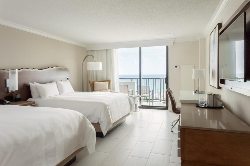 Oceanfront Guest Room - Double/Double