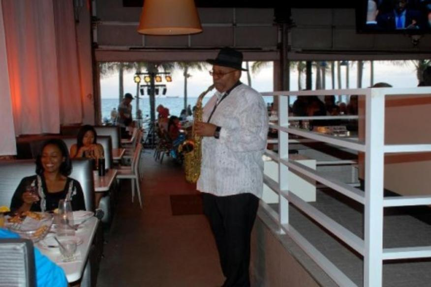 SPAZIO: Jazz guitar and saxophonist, Michael Kennedy performs Tuesday & Sunday