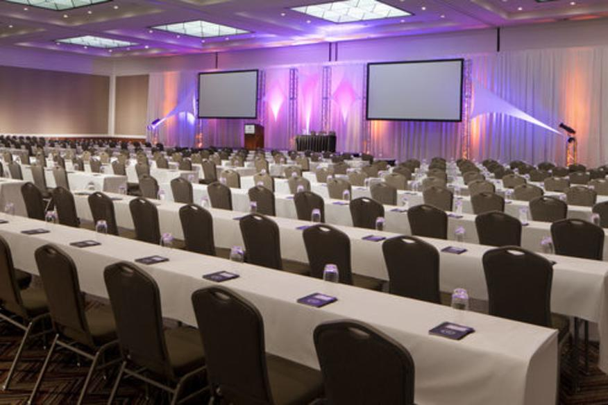 80,000 sq ft newly renovated Conference Center - Global Ballroom