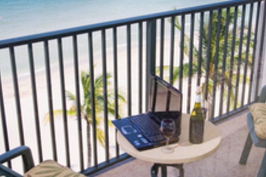 Beautiful Ocean View from Oceanfront Suite