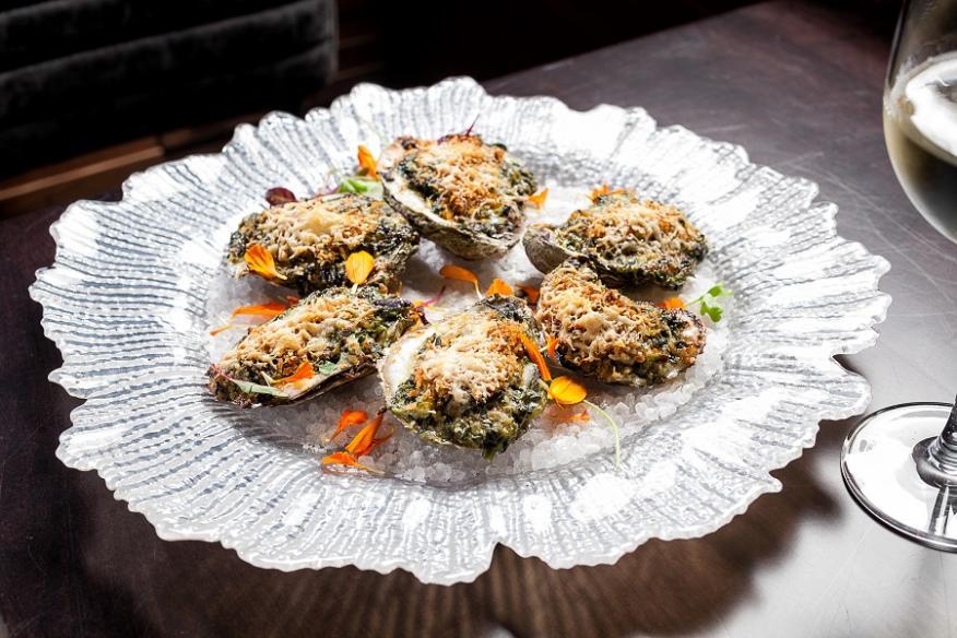 Oysters Rockefellar