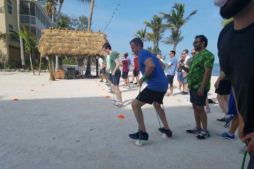 Individual sand race