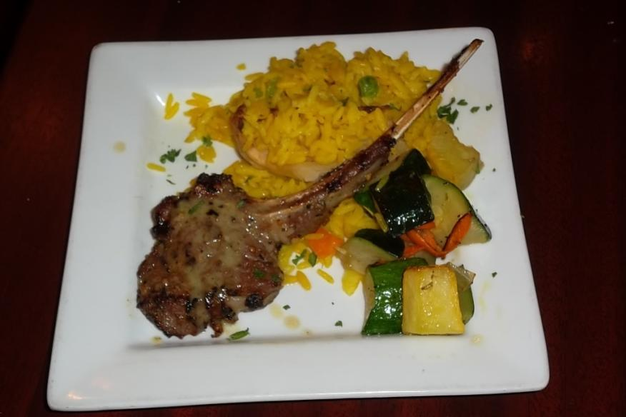 Trata Greek's Lamb Chops... to Live For!