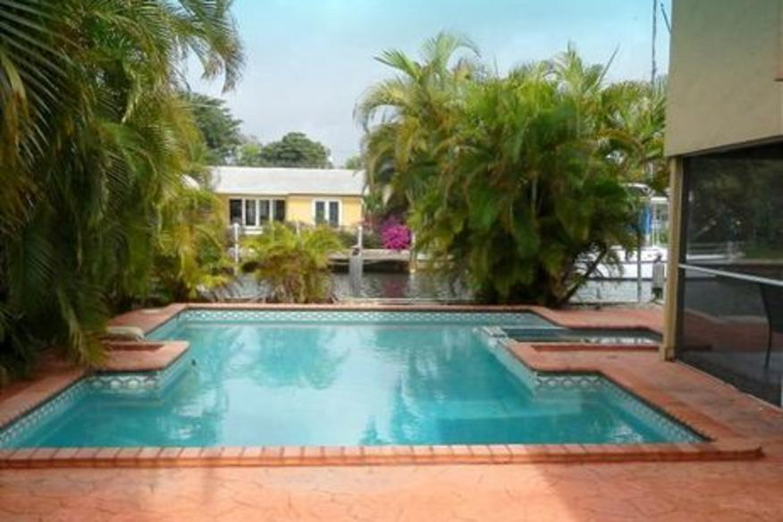Secluded Pompano Five Bedroom Two and One Half Bath