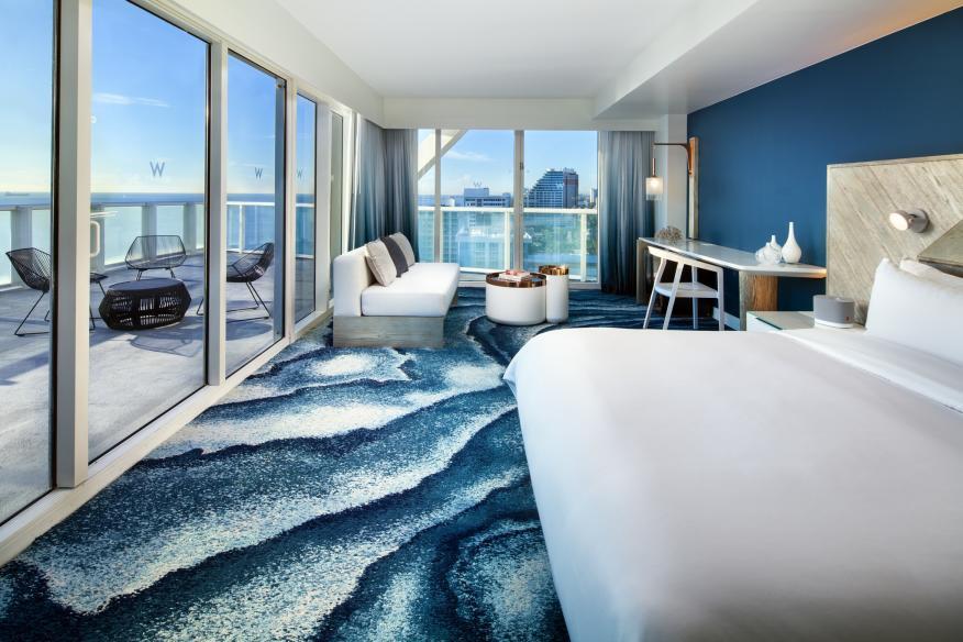 W Fort Lauderdale Sensational Oceanfront Studio