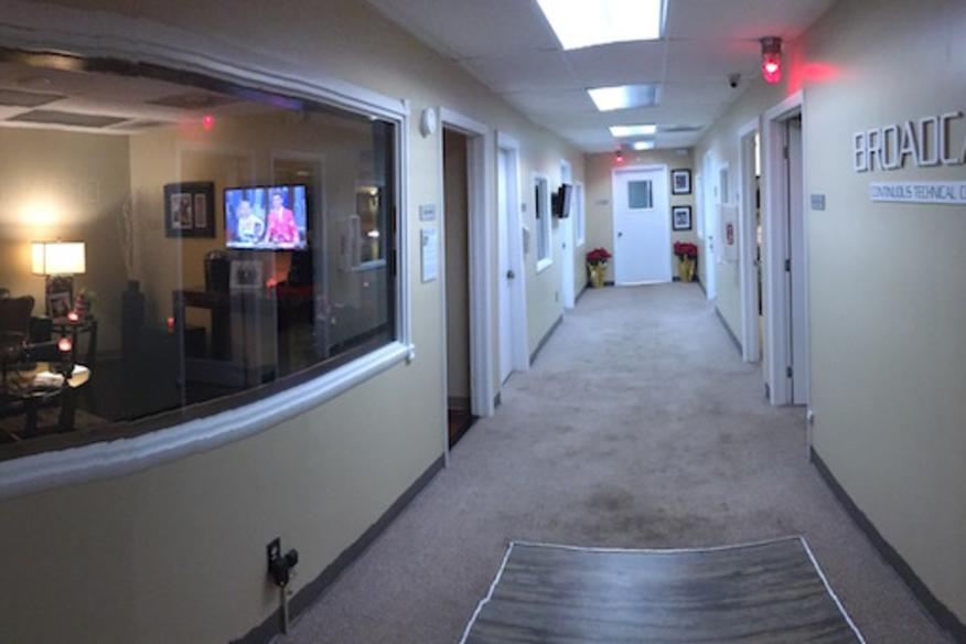 Studios and Green Room Area