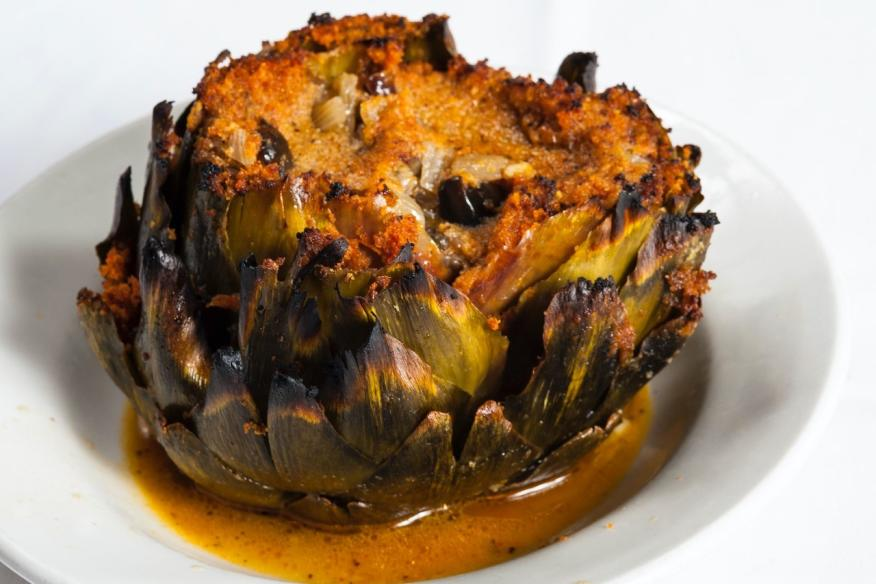 Stuffed Artichoke