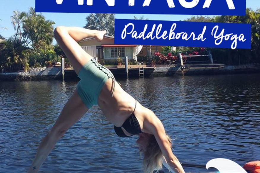 Vinyasa Paddle Board Yoga - $10 Off
