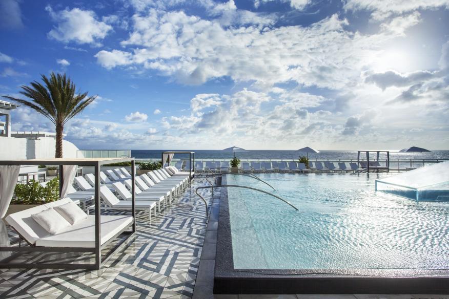 W Fort Lauderdale WET East Pool Deck