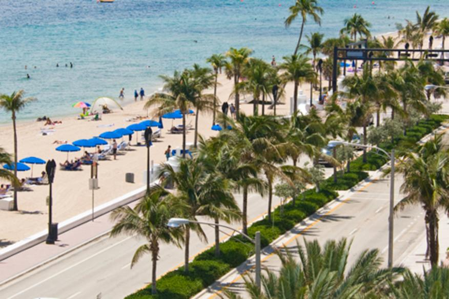 Fort Lauderdale Beach Promenade