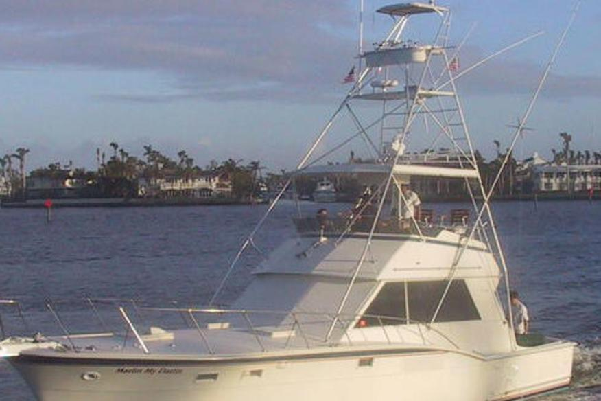 All-Inclusive Sport Fishing boat picture